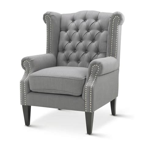 armchairs perth wa royale wingback arm chair wolf grey black mango