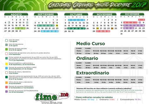 Calendario 2018 Uanl Calendario Enero Diciembre 2017 Fime Uanl Calendario 2017