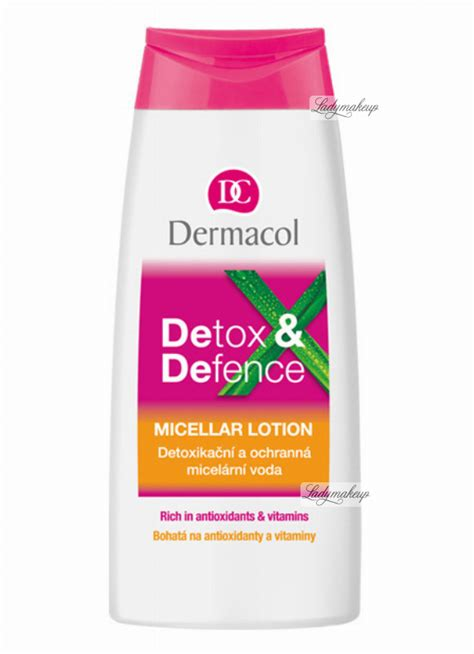 How To Detox From Propylene Glycol by Dermacol Detox Defence Micellar Lotion Płyn