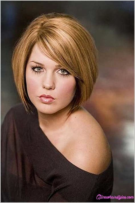 hairstyles for fuller faces haircuts for fuller faces allnewhairstyles
