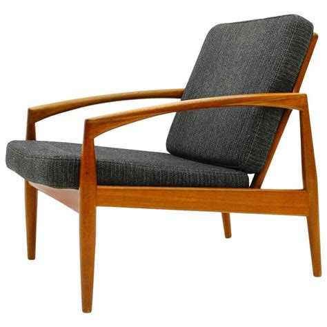 Paper Chairs by Kristiansen Teak Single Lounge Chair Paper Knife Chair