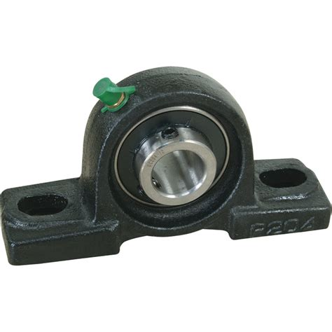 nortrac pillow block 2 bolt oval mount 1in hydraulic