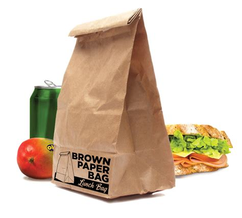 How To Make A Paper Lunch Bag - brown paper bag lunch bag at mighty ape nz