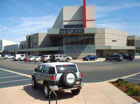 stevinson toyota west car dealership in lakewood co 80401