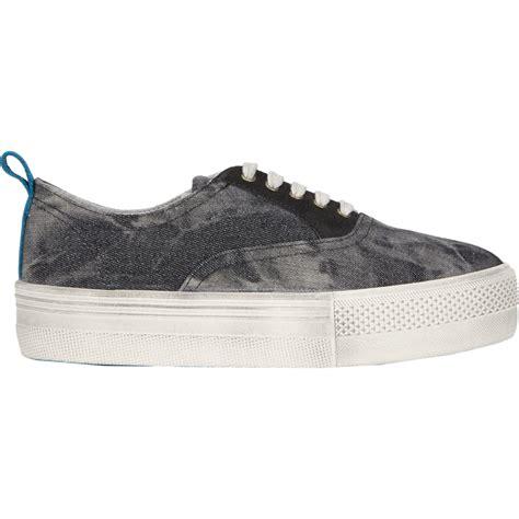 no name platform sneakers no name shake crew platform sneakers in black for lyst