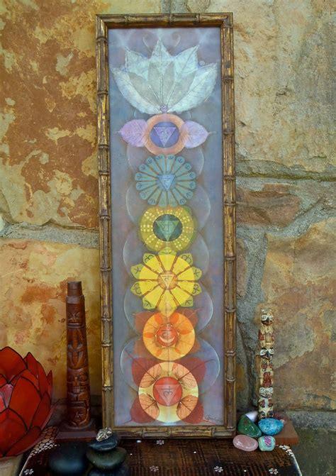 reserved  pamela chakras painting yoga art reiki energy