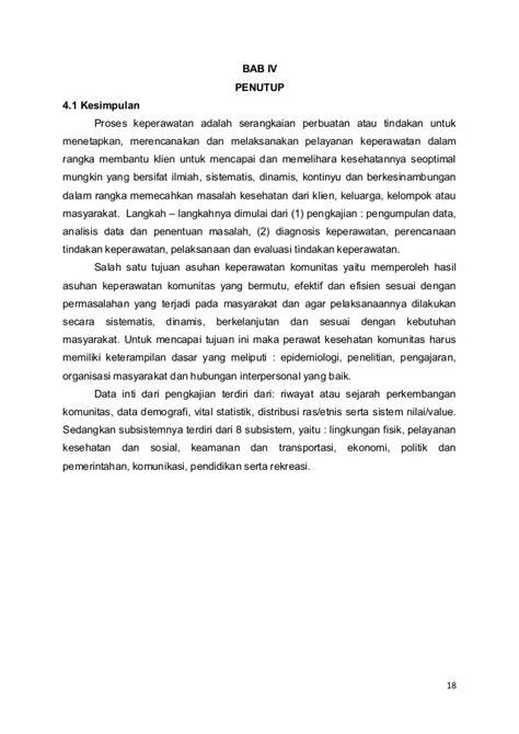 format asuhan keperawatan masyarakat format pengkajian keperawatan komunitas