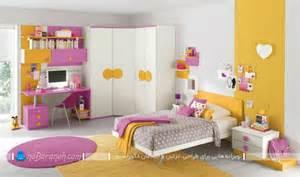 childrens bedroom colour schemes مدل های مدرن برای تزیین و دیزاین اتاق نوجوانان دختر و پسر
