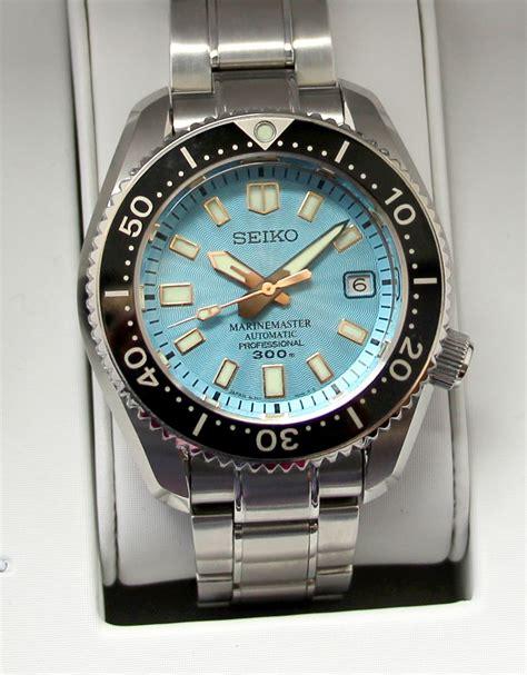 TimeZone : Seiko » N E W M o d e l   Seiko Prospex Marinemaster 300m Ref. SLA015