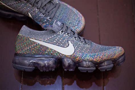 multi color nike vapormax release date sneakerfiles