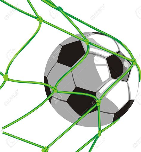 clipart calcio soccer and net clipart 69