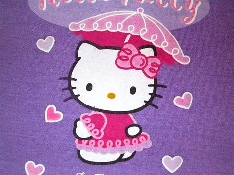 hello kitty themes purple hello kitty logo purple wallpaper