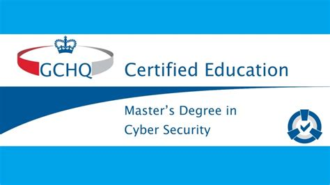 Mba In Cyber Security In Usa by Digital Forensics Msc To Receive Gchq Certification