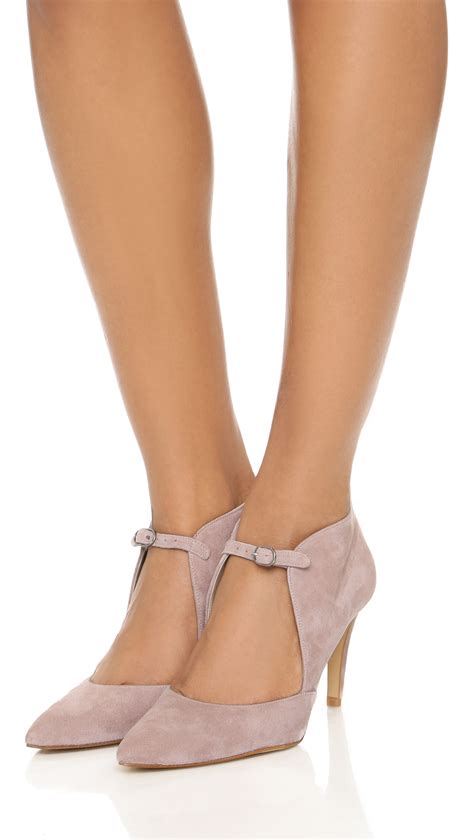 blush colored high heels free cerow heels blush in pink lyst