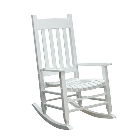 Lowes Porch Chairs by Shop Garden Treasures Patio Rocking Chair At Lowes