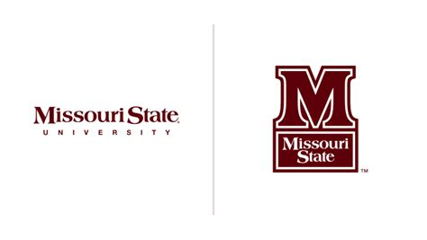missouri state colors logo usage brand missouri state