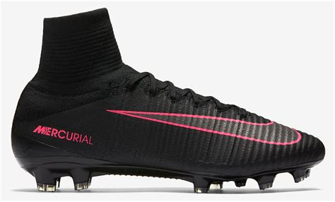 black pink nike mercurial superfly v 2016 2017 boots
