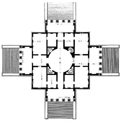 Palladian House Plans by 16 Best Villa Rotondo Villa Capra Vicenza Images On