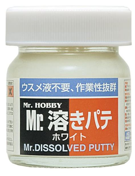 Mr Hobby Dissolved Putty mr dissolved putty mr hobby toolfanatic