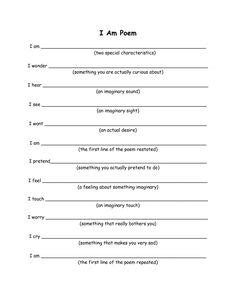 poem templates for high school students 1000 images about poetry month on poetry