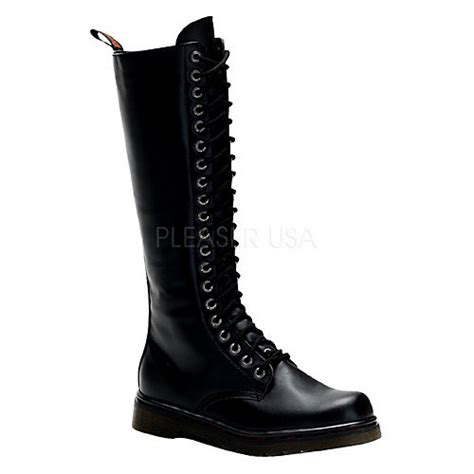 demonia disorder 400 mens knee high casual boot