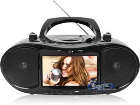 Go Portable Dvd Boom Box Suffers From A Split Personality by Naxa Ndl 254 Portable Dvd Cd Player Boombox Radio With 7