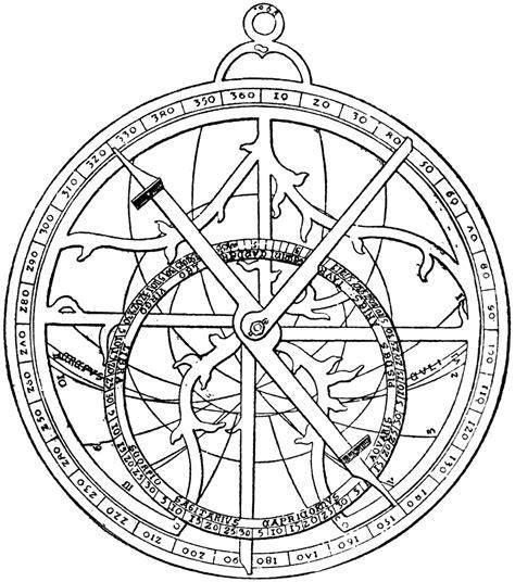 regiomontanus astrolabe clipart etc