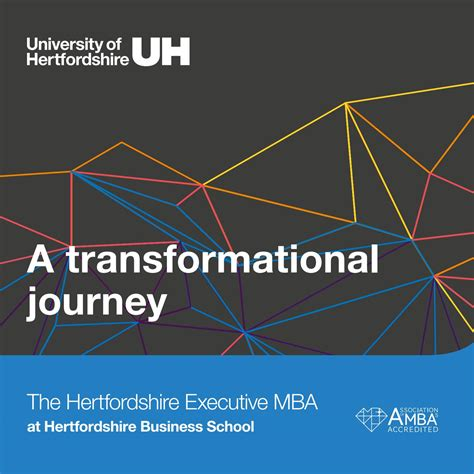 Mba Programs In Hatfield by The Hertfordshire Executive Mba Brochure By Of