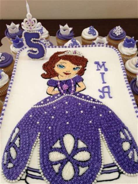 decoracion del bizcocho de sofia de first tortas de princesa sofia con originales decoraciones