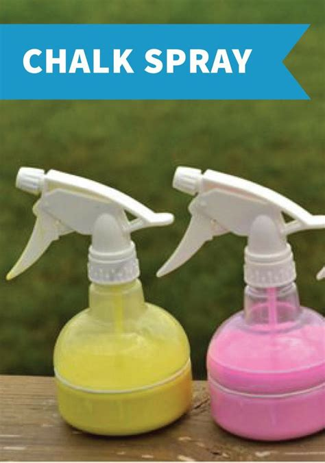 spray paint for toddlers spray chalk is for the easy clean up kid
