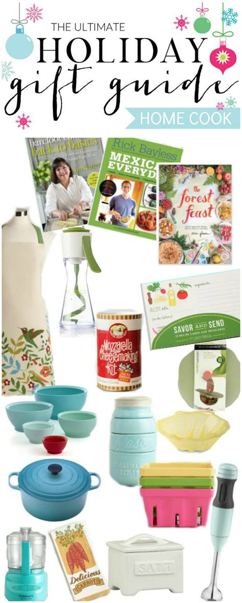 holiday gift guide for the home cook and a giveaway the