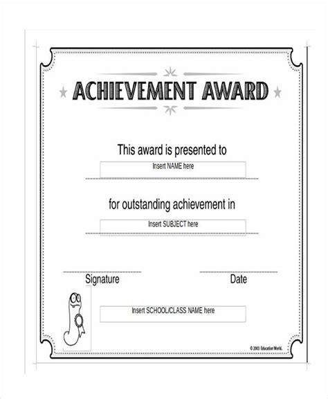 17 Certificate Templates In Word Free Premium Templates Blank Award Certificate Templates Word