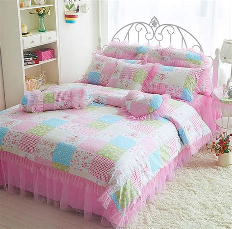 cute girly comforter sets vikingwaterford page 138 stylish mint green and soft pink comforter bedding set with