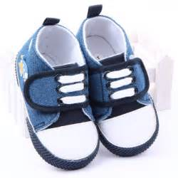 blue baby boy shoes walker toddler shoes crib shoes