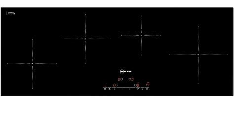 induction hob neff problems buy neff t45d90x2 90cm wide slimline touch four zone induction hob black from