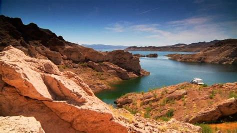 rock the boat you got the motion outside las vegas lake mead is america s largest man made