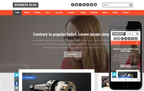 floral a blogging category flat bootstrap responsive web