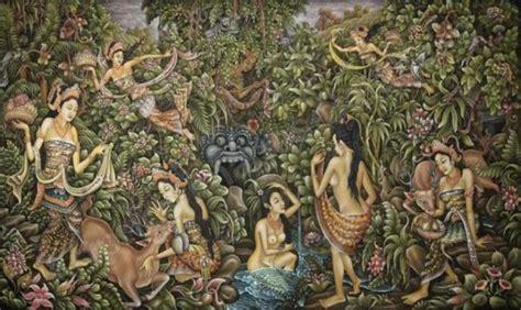Lukisan Tradisi Kremasingaben Bali puri lukisan panting museum ubud bali 171 tour driver bali island