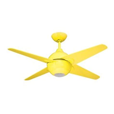 Yellow Ceiling Fan by Shop Yosemite Home Decor Spectrum 42 In Yellow Indoor