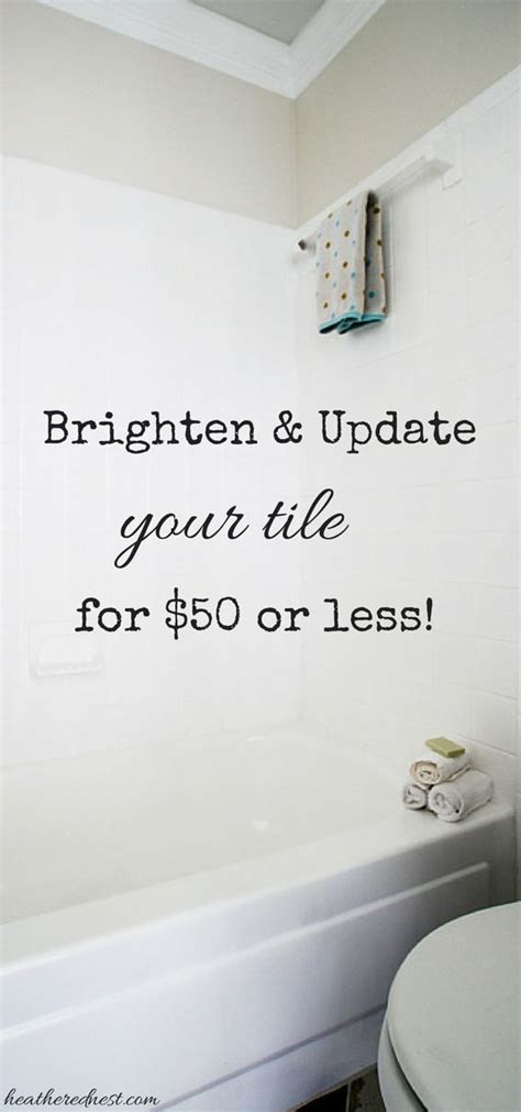 bathroom tile paint kit can you paint tile how we brightened our bathtub on a