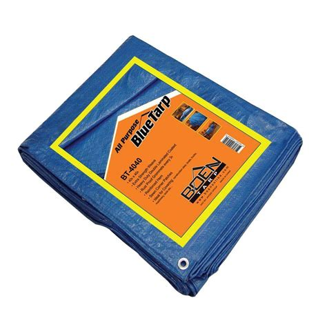 sigman 5 ft x 7 ft blue tarp bpf005007 the home depot