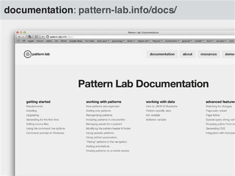 pattern lab demo the what why of pattern lab