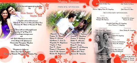 magazine type wedding invitation philippines wedding invitation philippines