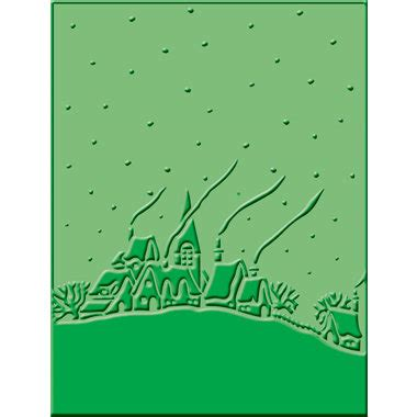 Cuttlebug Embossing Folder Winter Frolic 2000566 provo craft cuttlebug embossing folder winter house
