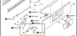 Nissan Frontier Tailgate Parts Ez Tailgate Assist Nissan Frontier