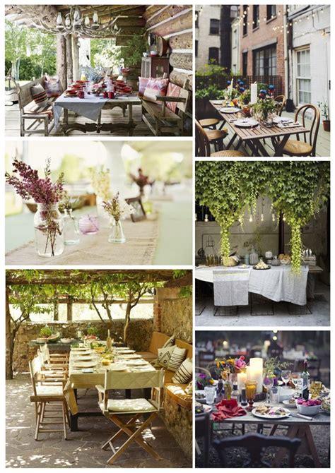 outdoor table ideas 22 outdoor dining ideas style barista