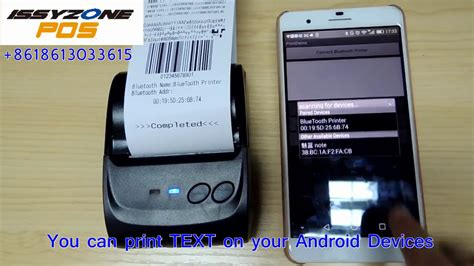 Printer Untuk Hp Android mini printer thermal bluetooth bisa hp android ios print