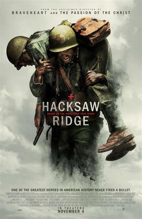 Hacksaw Ridge Online Free Hacksaw Ridge 2016 Poster 2 Trailer Addict