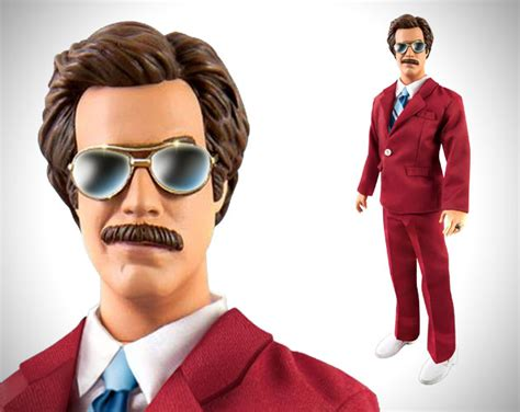 Ron Burgundy Blind Ron Burgundy Talking Action Figure Hiconsumption