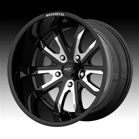 motto wheels moto metal mo983 black milled custom wheels rims moto